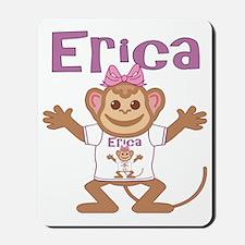 erica-g-monkey Mousepad