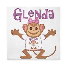 glenda-g-monkey Queen Duvet