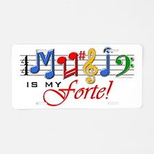 MIMF-Colors-TB Aluminum License Plate