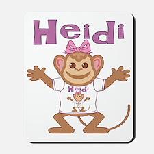 heidi-g-monkey Mousepad