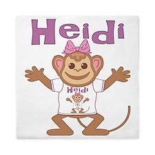 heidi-g-monkey Queen Duvet