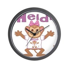 heidi-g-monkey Wall Clock
