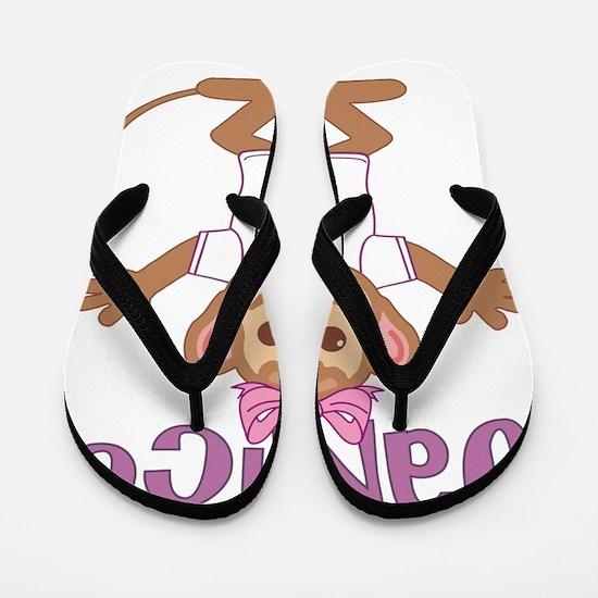 janice-g-monkey Flip Flops