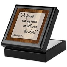 JOSHUA 24:15 Keepsake Box
