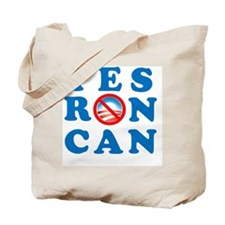 Yes RON Can square 2 Tote Bag