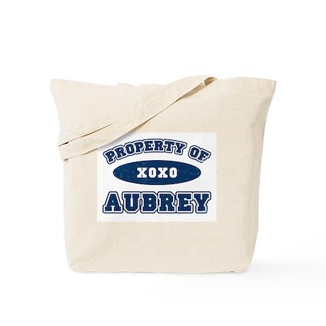 """Property of Aubrey"" Tote Bag"
