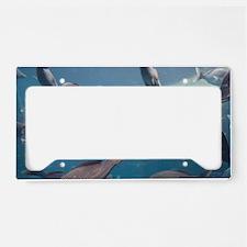 Aquarium inside Atlantis Reso License Plate Holder