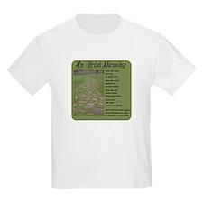 An Irish Blessing Kids T-Shirt
