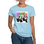 Cool Colors Total Geek Women's Light T-Shirt