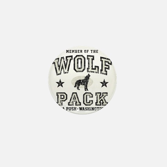 Wolf Pack La Push Mini Button