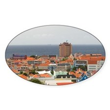Willemstad: Aerial View of Punda /  Decal