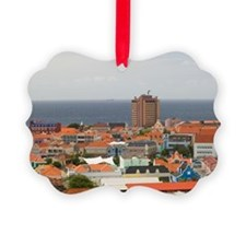 Willemstad: Aerial View of Punda  Ornament