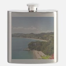 Lonely Bay and Cooks Beach Flask