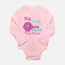 Big Sister in Training - Personalized Long Sleeve