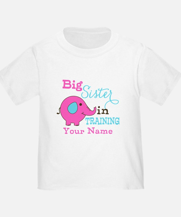 Big Sister in Training - Personalized T