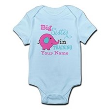 Big Sister in Training - Personalized Infant Bodys