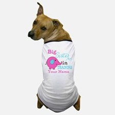 Big Sister in Training - Personalized Dog T-Shirt