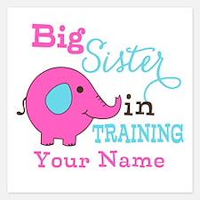 Big Sister in Training - Personalized Invitations x Invitations