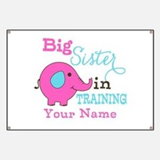 Big Sister in Training - Personalized Banner