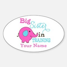Big Sister in Training - Personalized Decal