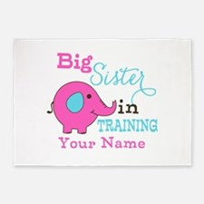 Big Sister in Training - Personalized 5'x7'Area Ru