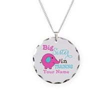 Big Sister in Training - Personalized Necklace