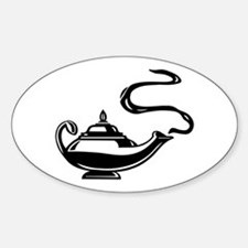 Magic Lantern Oval Decal