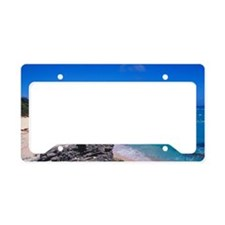 Caribbean, Bermuda. Warwick L License Plate Holder