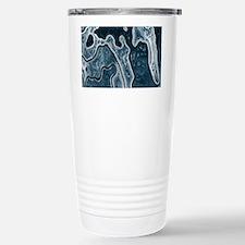Blue Camouflage Travel Mug
