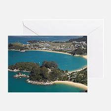 Honeymoon Bay (bottom) Greeting Card