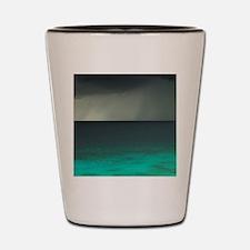 Storm over Ocean, Western Bonaire, Neth Shot Glass