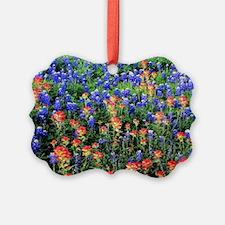 BLUEBONNETS AND PAINTBRUSH 1 Ornament