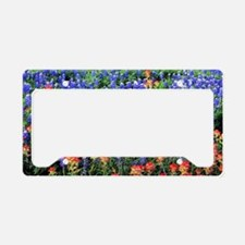 BLUEBONNETS AND PAINTBRUSH 1 License Plate Holder