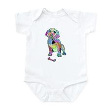 NEON PUPPY Infant Bodysuit