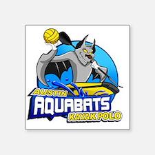 """aquaBATS Square Sticker 3"""" x 3"""""""