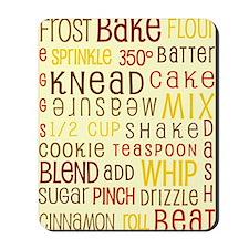 Lets Get Baking! Mousepad