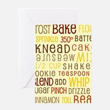Lets Get Baking! Greeting Card