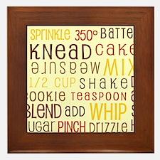 Lets Get Baking! Framed Tile