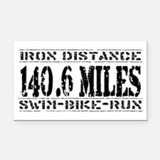 ironman Rectangle Car Magnet