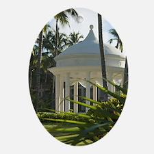 Dominican Republic, La Altagracia, P Oval Ornament