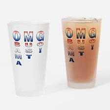 11X11 OMG Drinking Glass