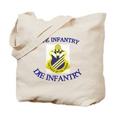 1st Bn 38th Infantry cap3 Tote Bag