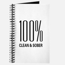 100 Percent Clean and Sober Journal