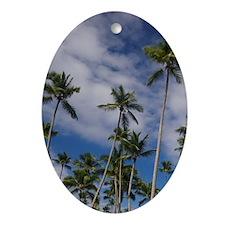 Majestic Elegance Resort Oval Ornament