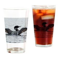 Janurary Drinking Glass