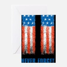 911_NEVERFORGET_23X35 Greeting Card