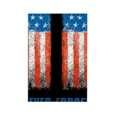 911_NEVERFORGET_23X35 Rectangle Magnet