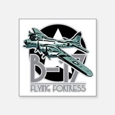 """B-17-Flying-Fortress Square Sticker 3"""" x 3"""""""