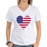 American Heart Women's V-Neck T-Shirt