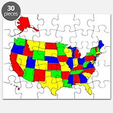 Map of America VII Puzzle